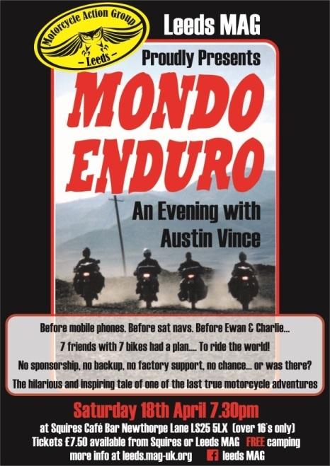 Mondo Enduro Poster